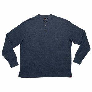 Alpine Design Men's Henley Long Sleeve Shirt